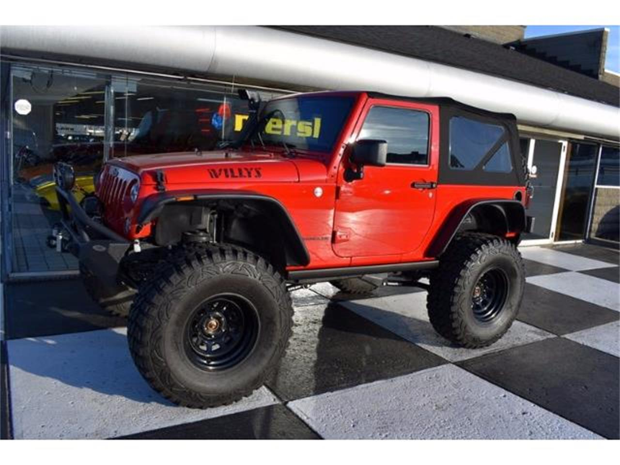 Large Picture of '15 Wrangler located in Springfield Ohio - $31,900.00 Offered by Mershon's - KHY4
