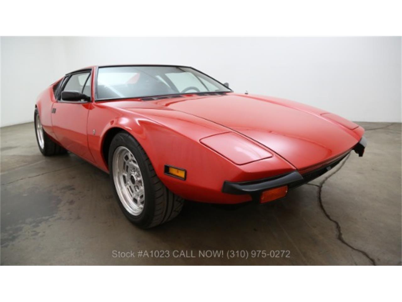 Detomaso Pantera For Sale >> For Sale 1971 Detomaso Pantera In Beverly Hills California