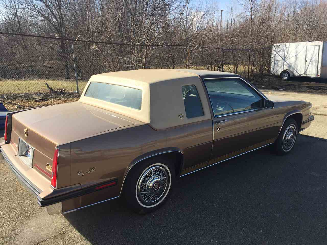 1985 Cadillac Coupe DeVille for Sale | ClicCars.com | CC-956468
