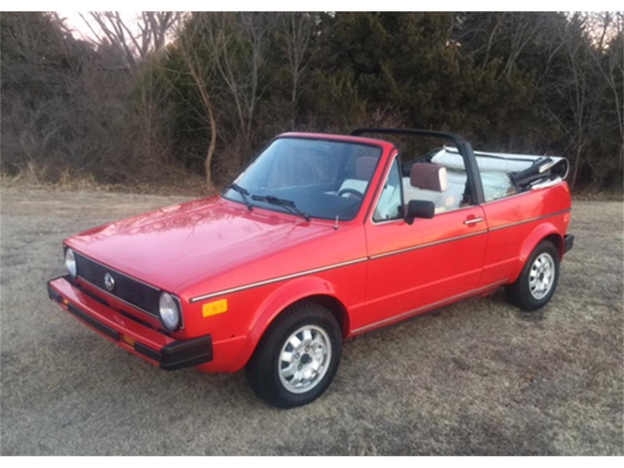 1987 Volkswagen Cabriolet For Sale Classiccars Com Cc