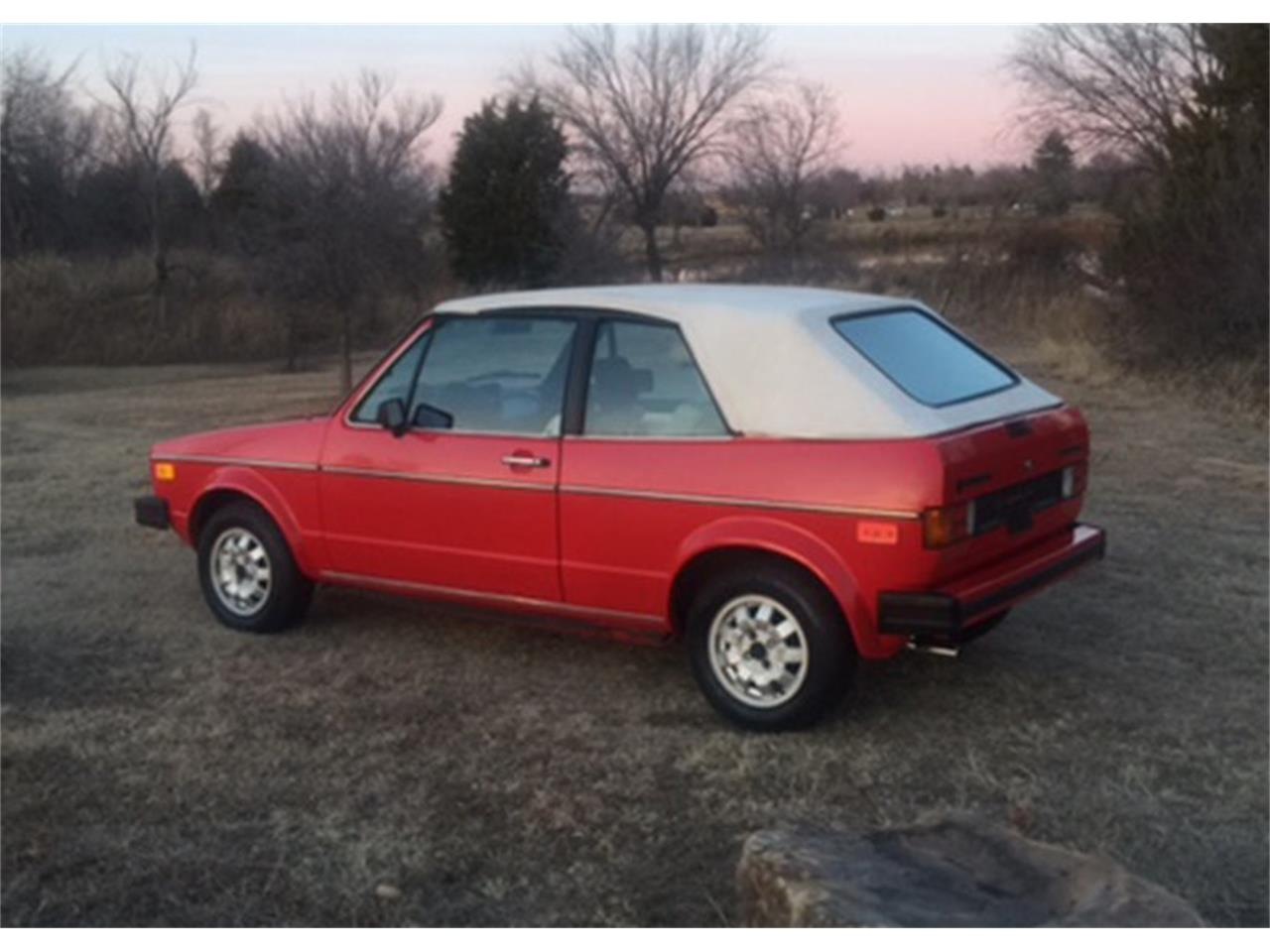 1987 Volkswagen Cabriolet For Sale Classiccars Com Cc