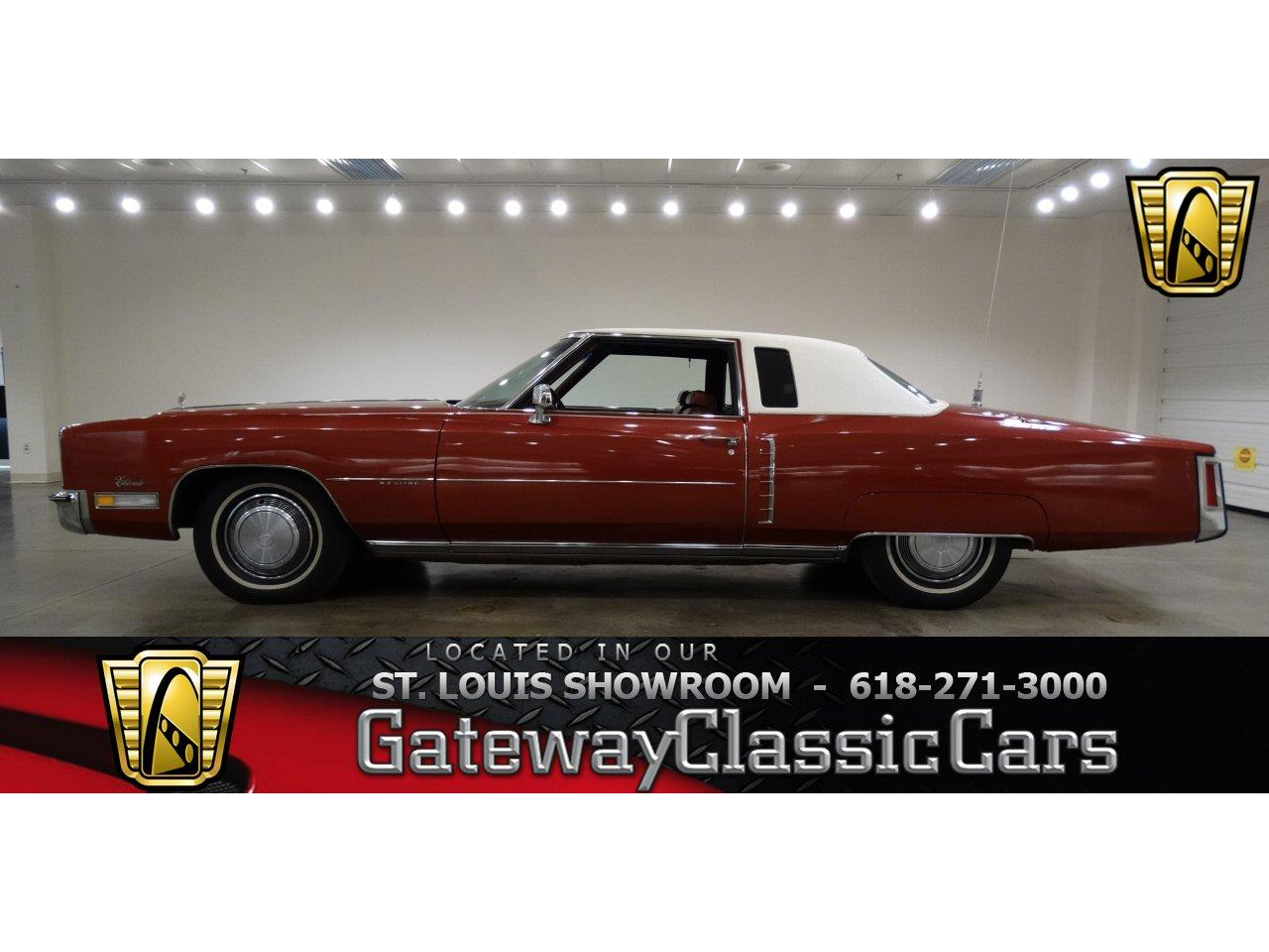 Large Picture of Classic '72 Cadillac Eldorado located in O'Fallon Illinois - $10,595.00 Offered by Gateway Classic Cars - St. Louis - KDKB