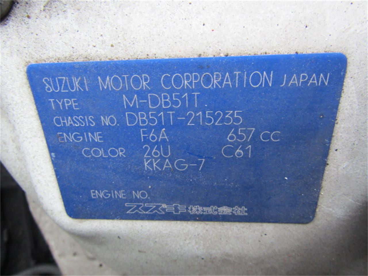 Large Picture of '91 Suzuki Carry - $7,989.00 - KIFI