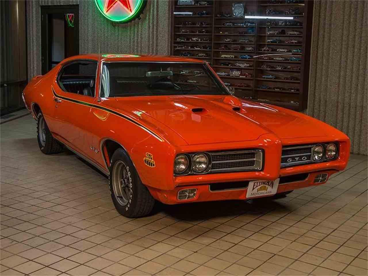 1969 Pontiac GTO for Sale | ClassicCars.com | CC-957063