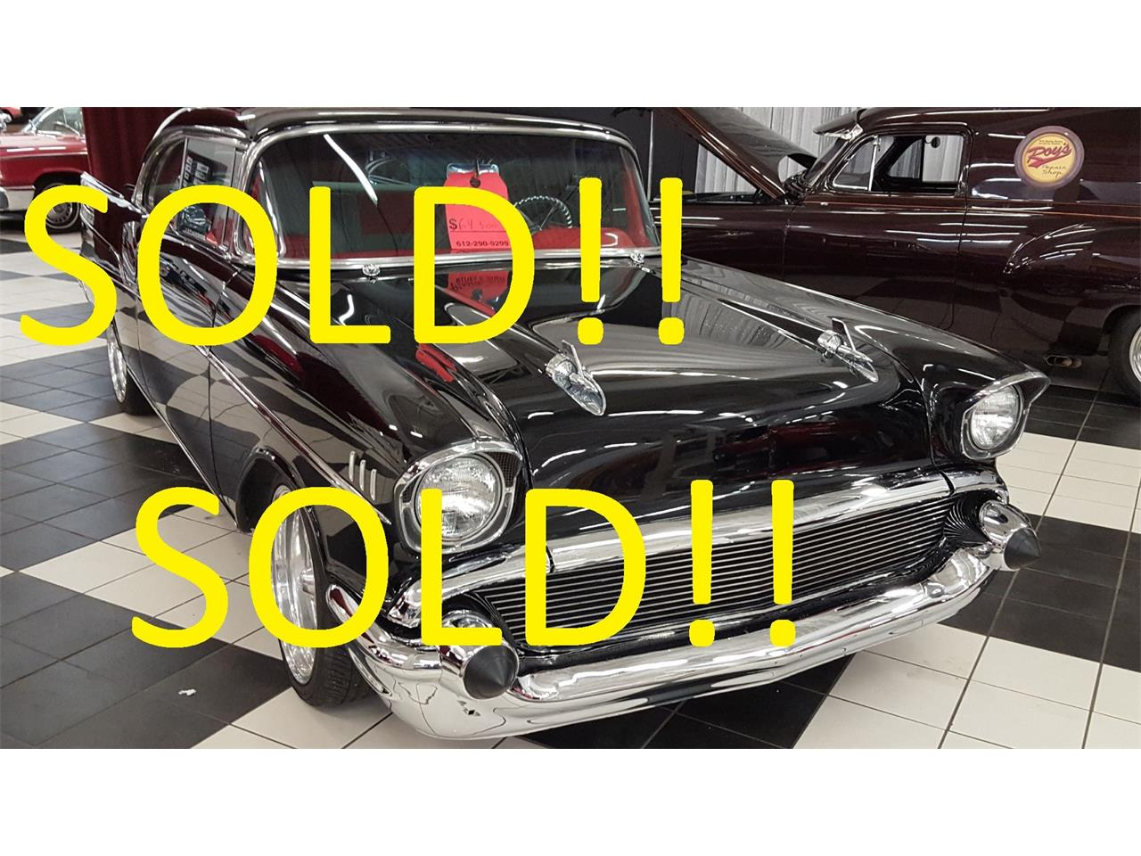 Large Picture of Classic 1957 Bel Air Offered by Classic Rides and Rods - KIHQ