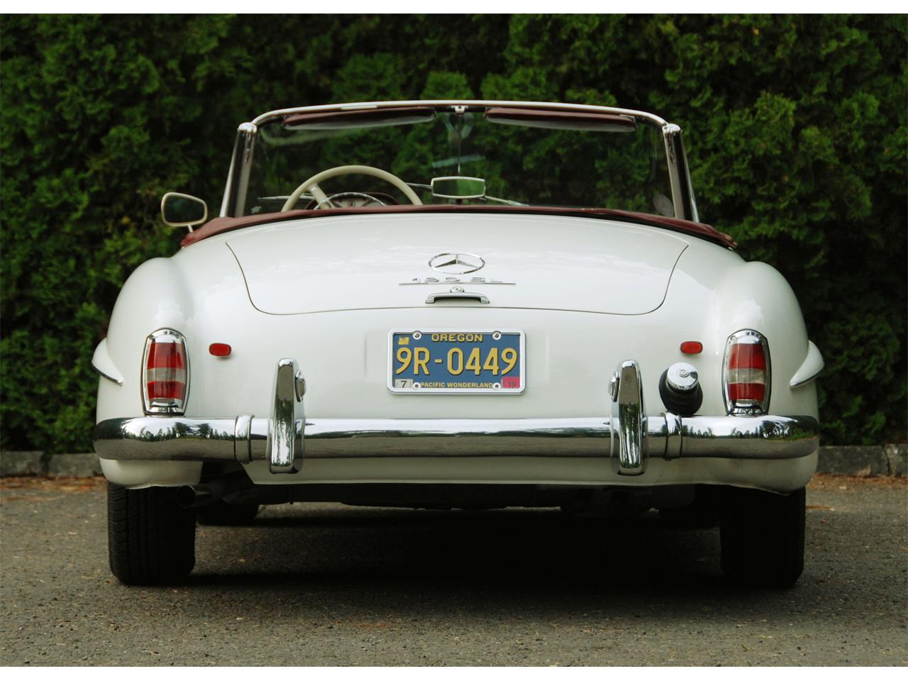 Mercedes Benz Portland >> For Sale 1961 Mercedes Benz 190sl In Portland Oregon