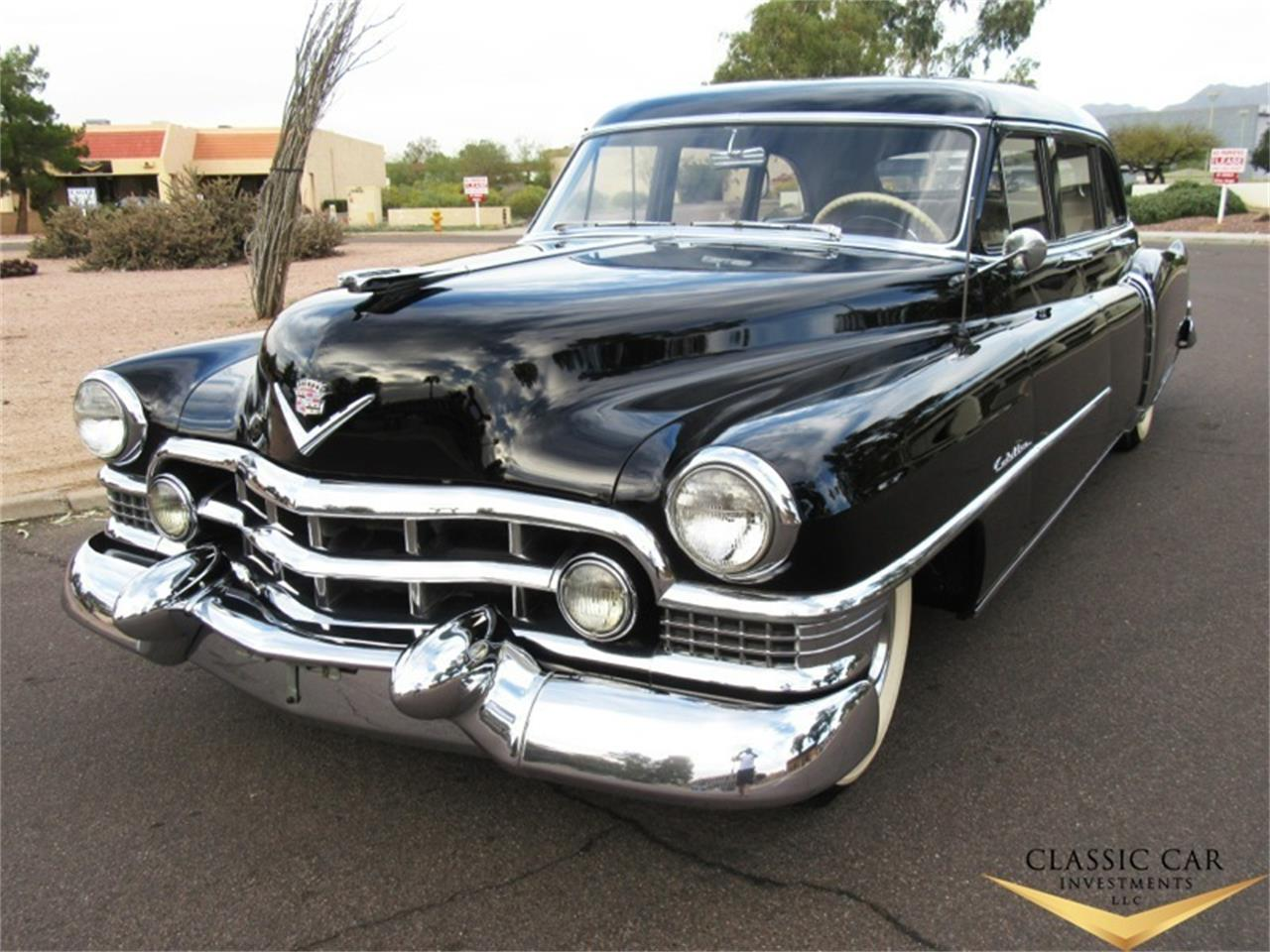 1951 Cadillac Fleetwood Limousine For Sale Cc 957996 Sedan Large Picture Of 51 Kj70