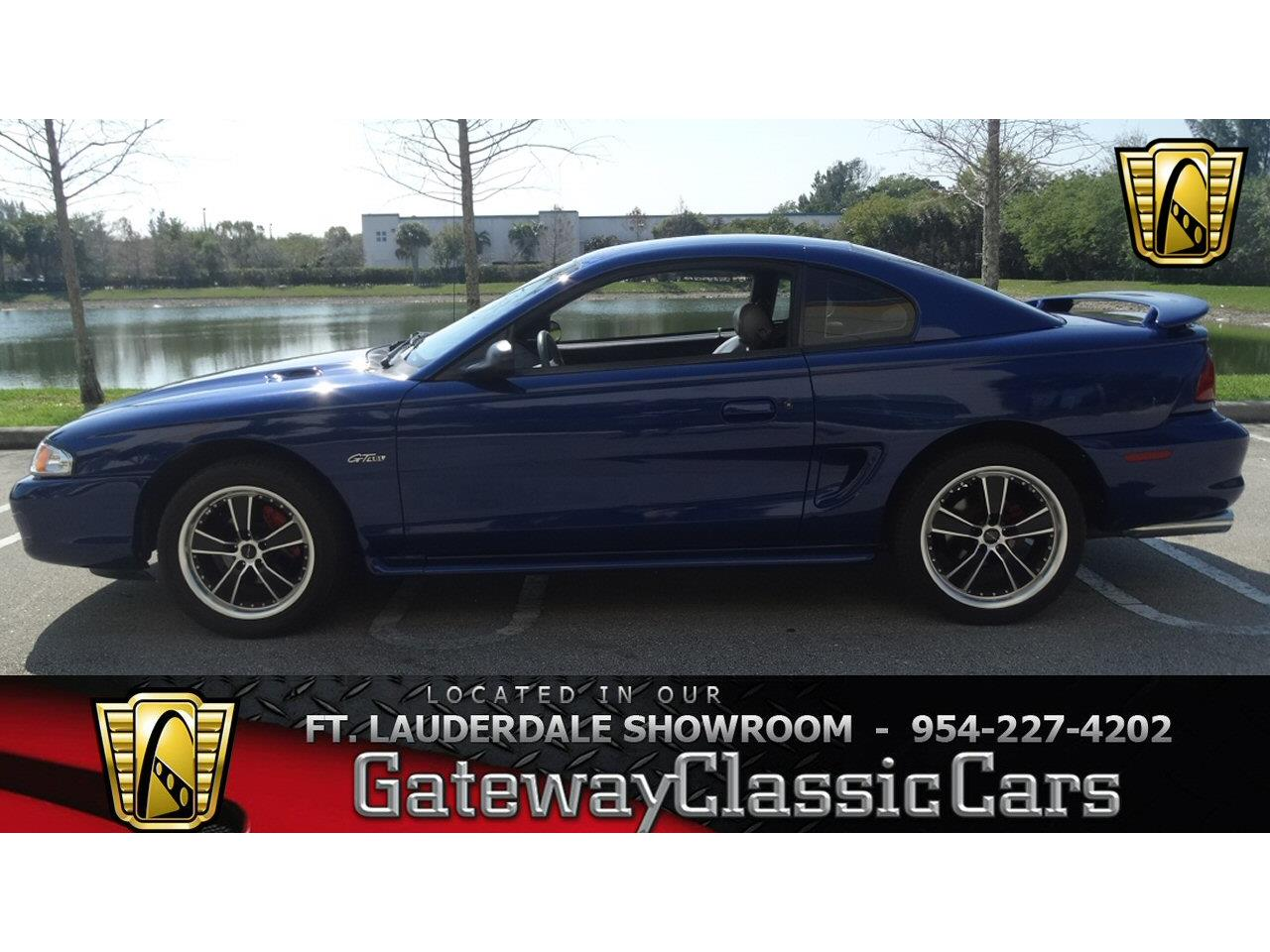 Large Picture of '96 Ford Mustang located in Coral Springs Florida - $9,995.00 Offered by Gateway Classic Cars - Fort Lauderdale - KJ79