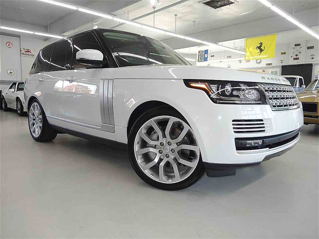 Large Picture of '14 RANGE ROVER SUPERCHARGED - KJBX