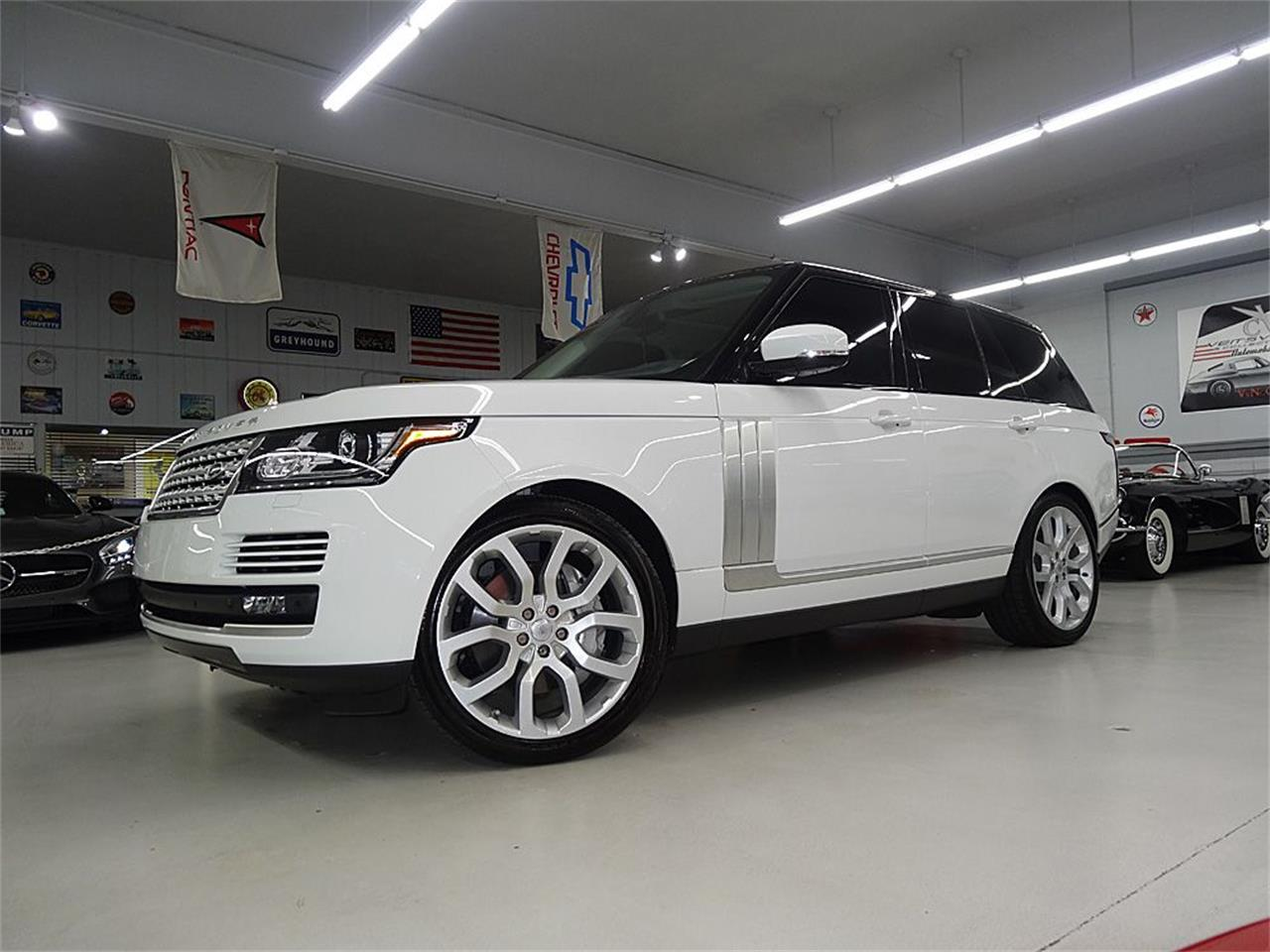 Large Picture of '14 RANGE ROVER SUPERCHARGED located in Bettendorf Iowa - $80,900.00 - KJBX