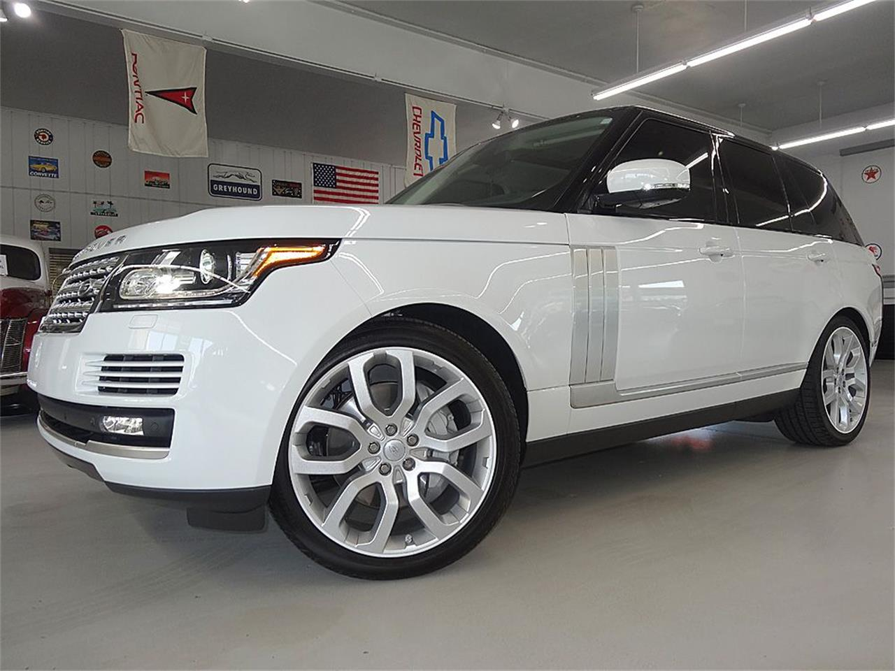 Large Picture of '14 Land Rover RANGE ROVER SUPERCHARGED - KJBX
