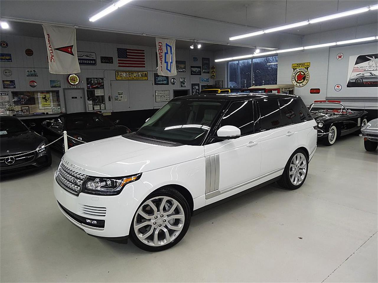 Large Picture of 2014 Land Rover RANGE ROVER SUPERCHARGED located in Iowa - $80,900.00 - KJBX