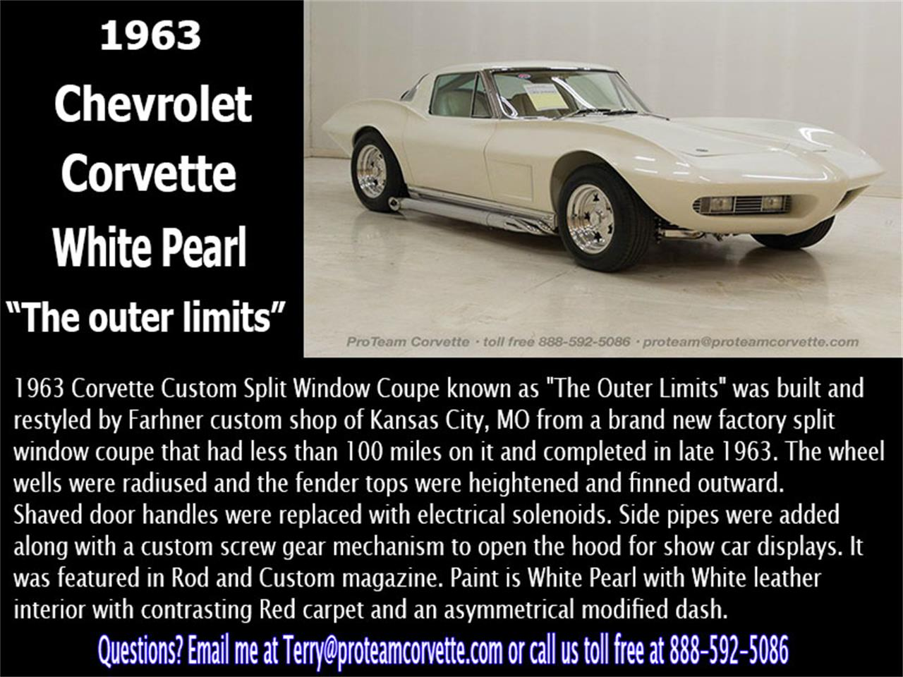 Large Picture of '63 Corvette - KJHE