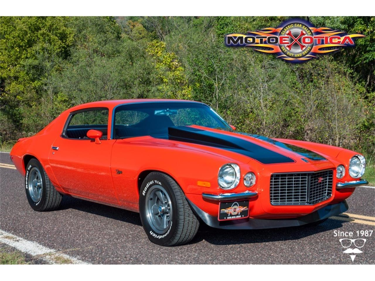 Large Picture of Classic '70 Chevrolet Camaro RS Z28 Offered by MotoeXotica Classic Cars - KJIC