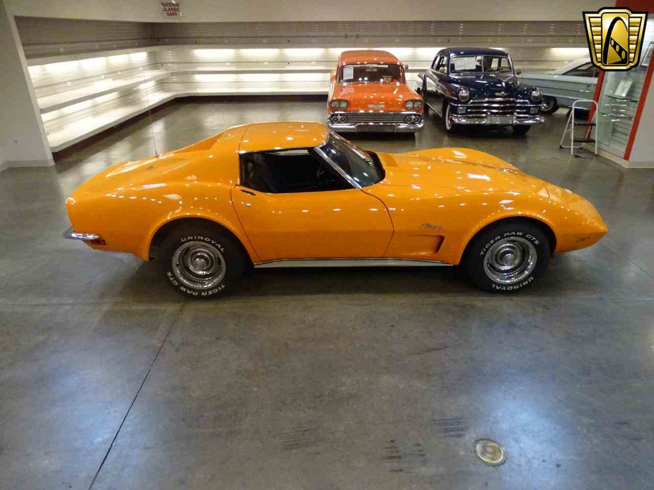 Large Picture of Classic '73 Chevrolet Corvette located in Illinois Offered by Gateway Classic Cars - St. Louis - KJUW
