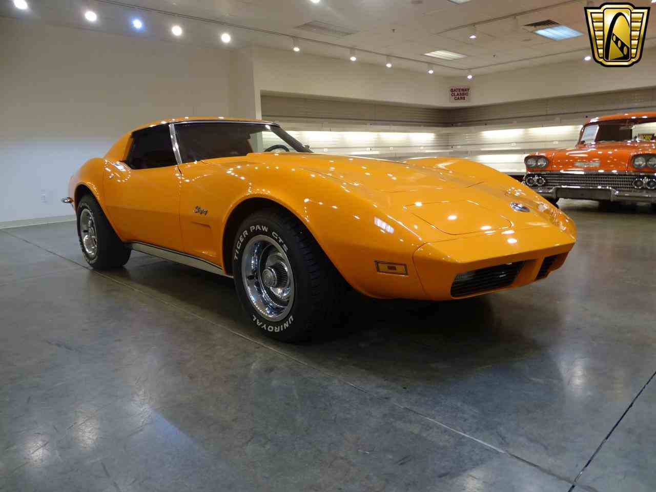 Large Picture of Classic '73 Chevrolet Corvette located in O'Fallon Illinois - $20,995.00 Offered by Gateway Classic Cars - St. Louis - KJUW