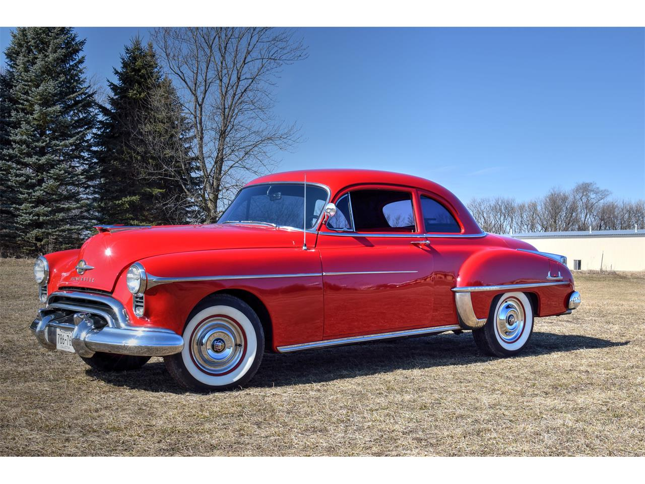 Large Picture Of 50 Rocket 88 Club Coupe Kk2w