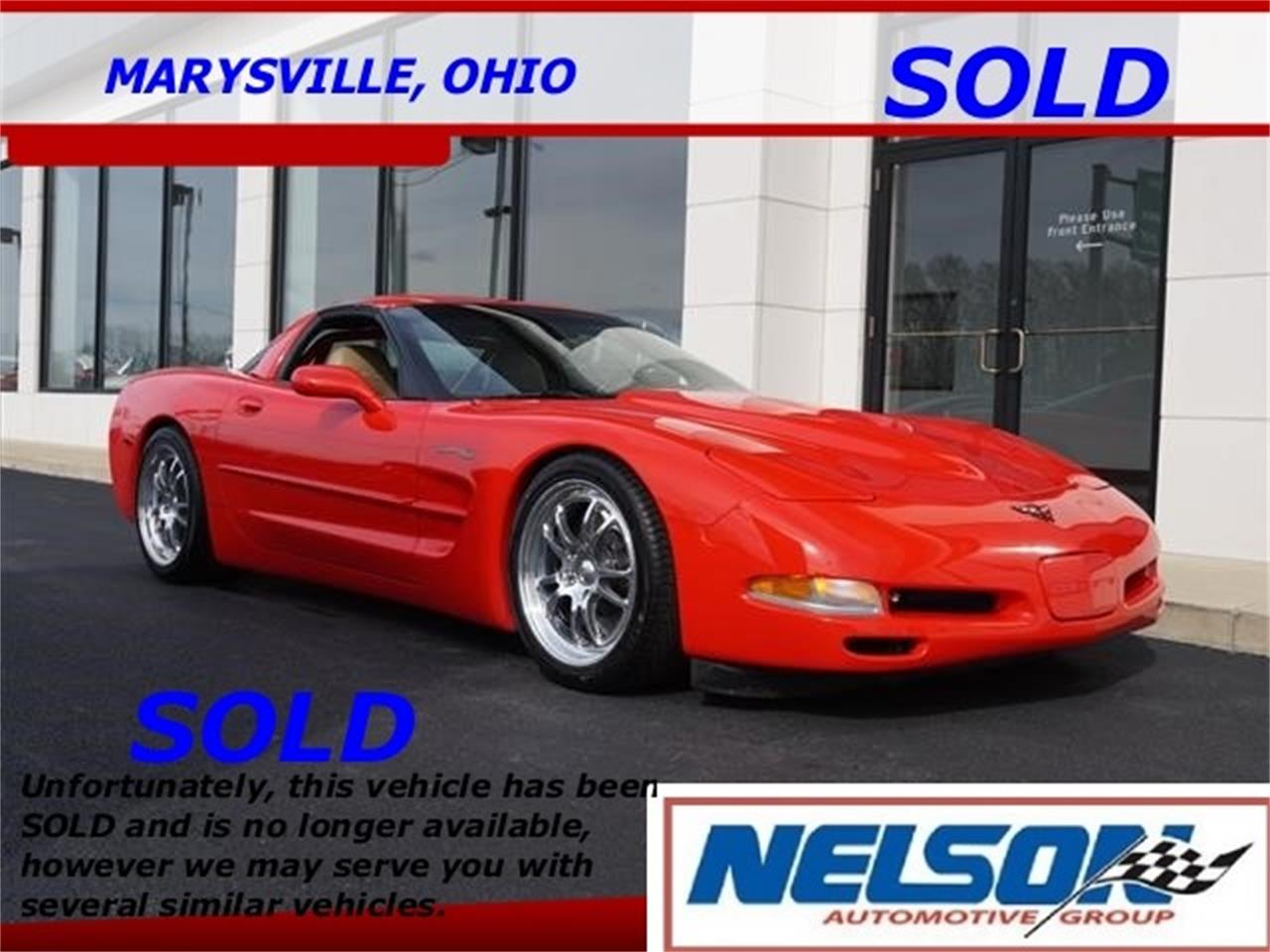 Large Picture of 1998 Corvette located in Marysville Ohio - $34,999.00 Offered by Nelson Automotive, Ltd. - KKOM