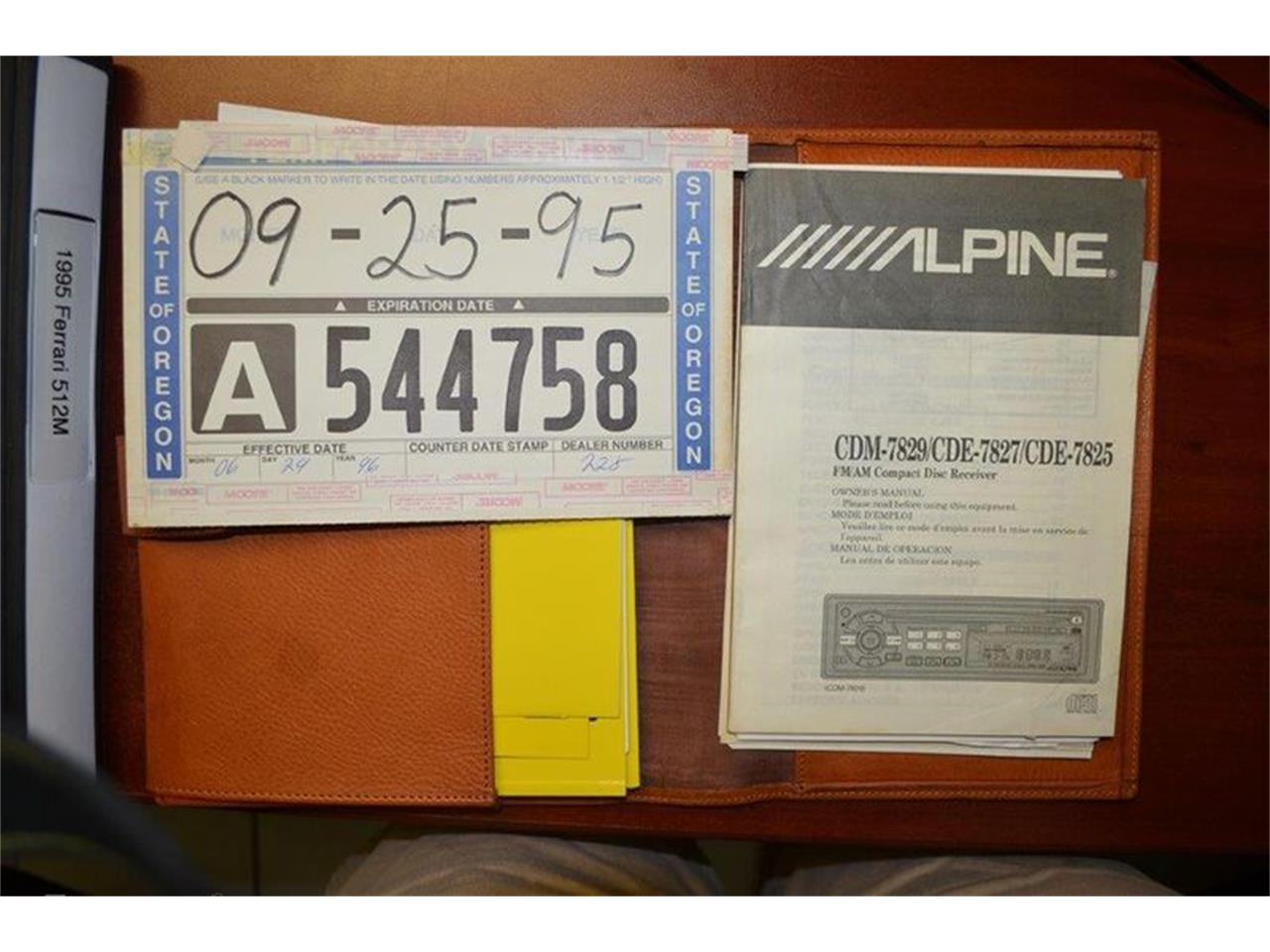 Large Picture of '95 512 M - KKPK