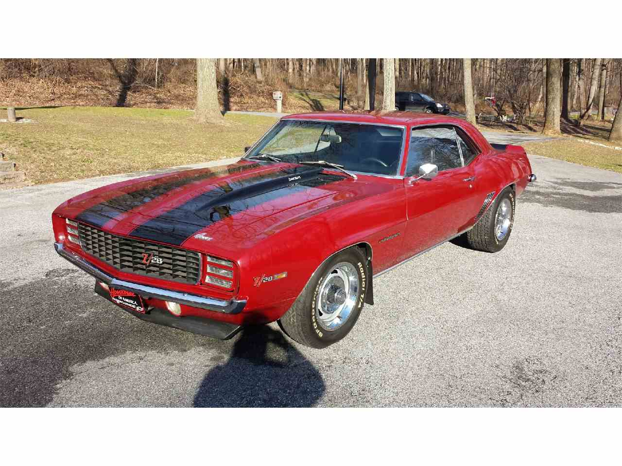 1969 chevrolet camaro rs z28 for sale cc 960137. Black Bedroom Furniture Sets. Home Design Ideas