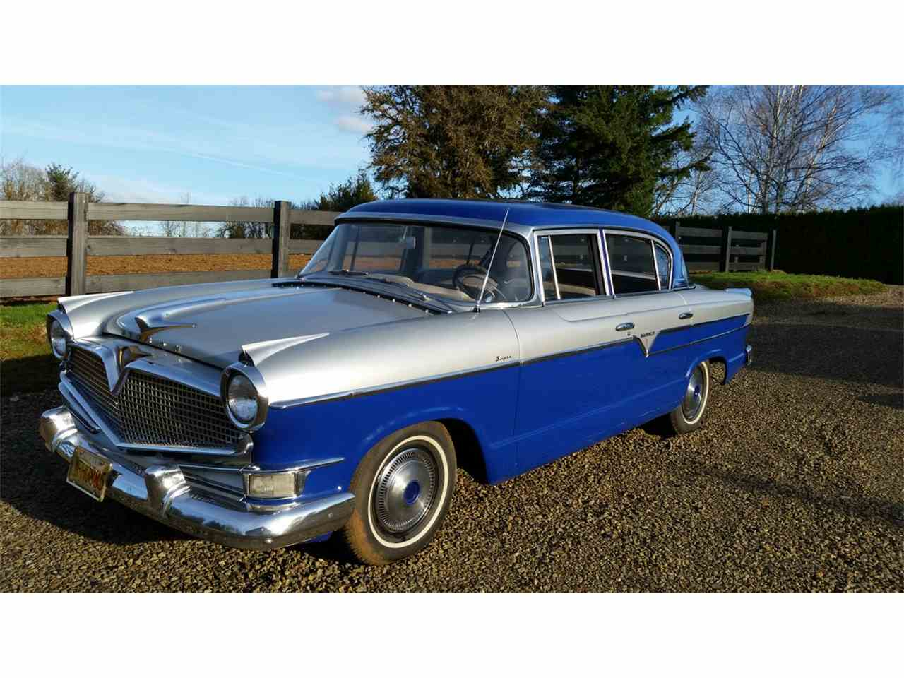 1956 hudson hornet for sale cc 961798. Black Bedroom Furniture Sets. Home Design Ideas