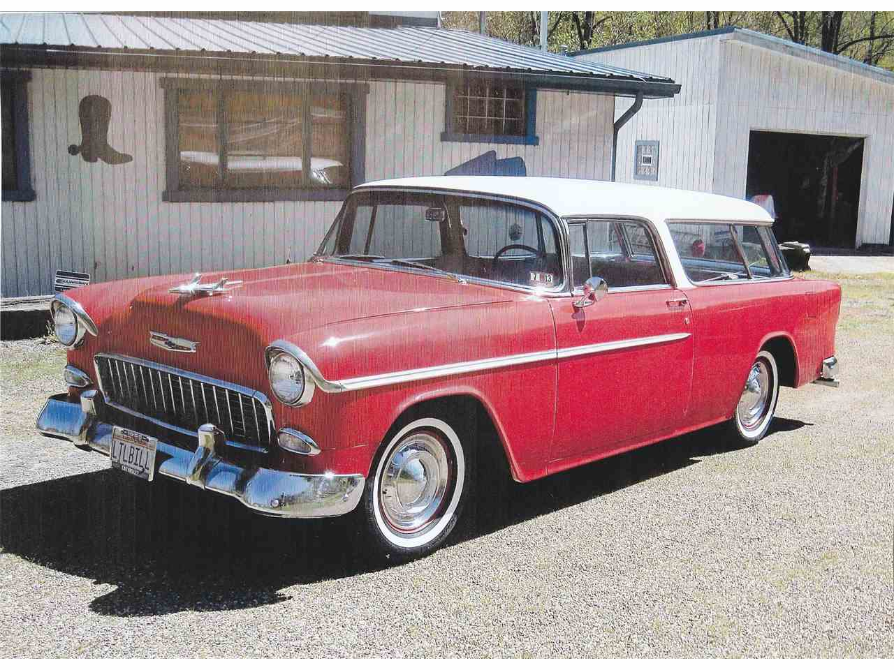 Large Picture of '55 Nomad - KMFX