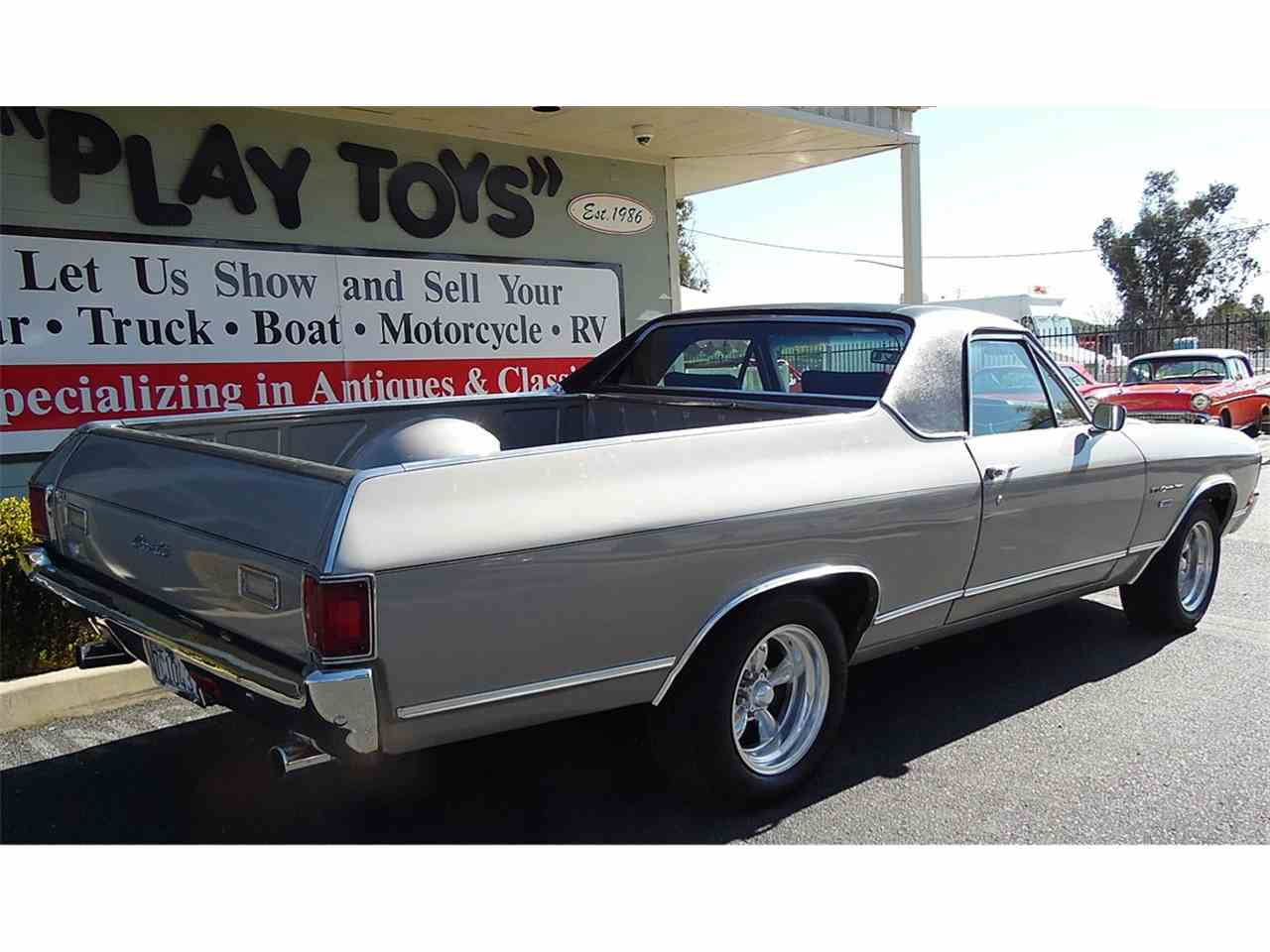 Large Picture of '72 El Camino - KMZO