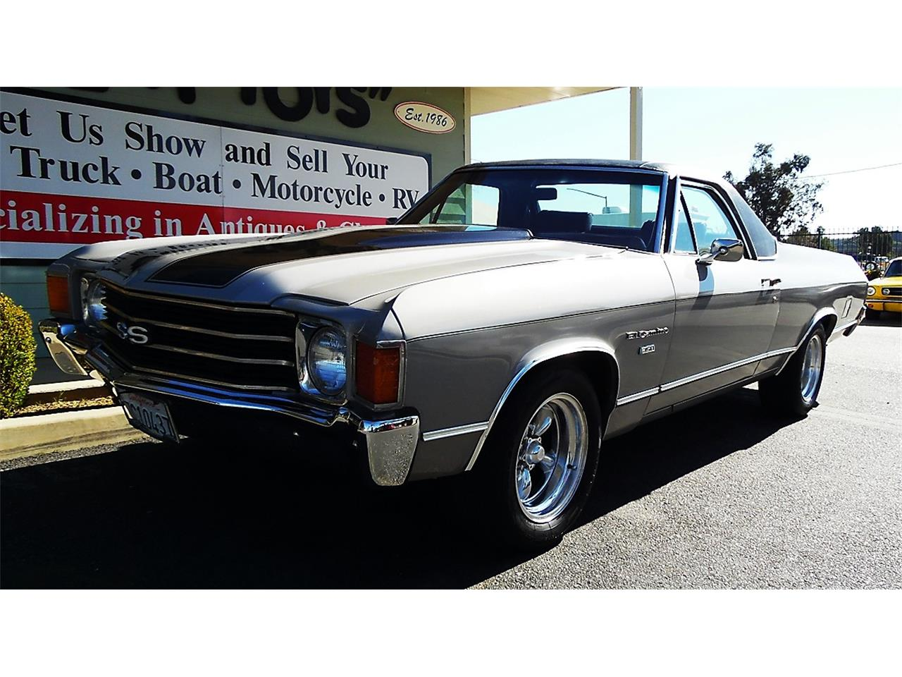 Large Picture of Classic 1972 Chevrolet El Camino located in California Offered by Play Toys Classic Cars - KMZO