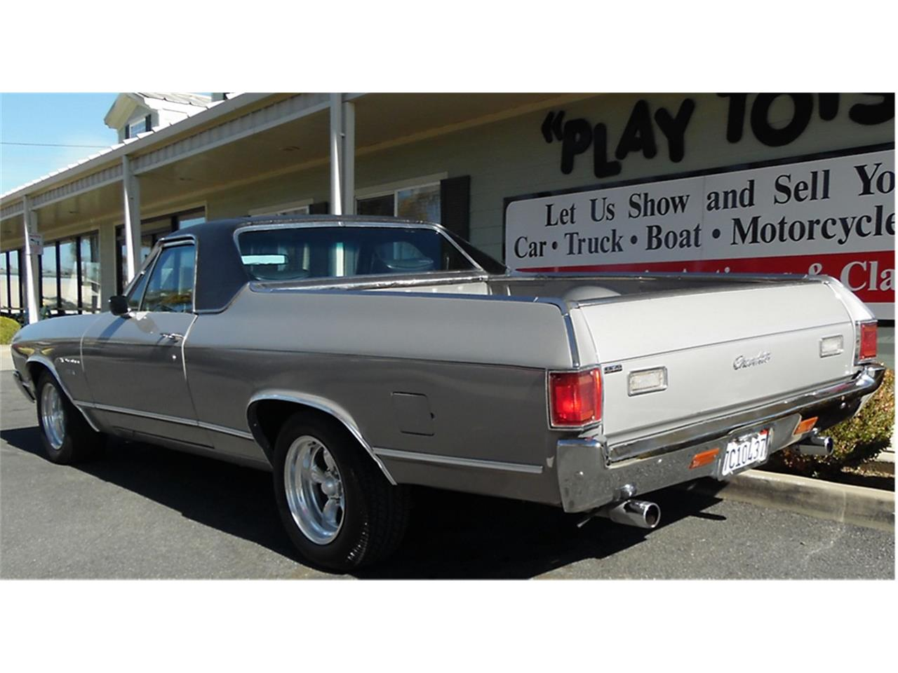 Large Picture of 1972 Chevrolet El Camino Offered by Play Toys Classic Cars - KMZO