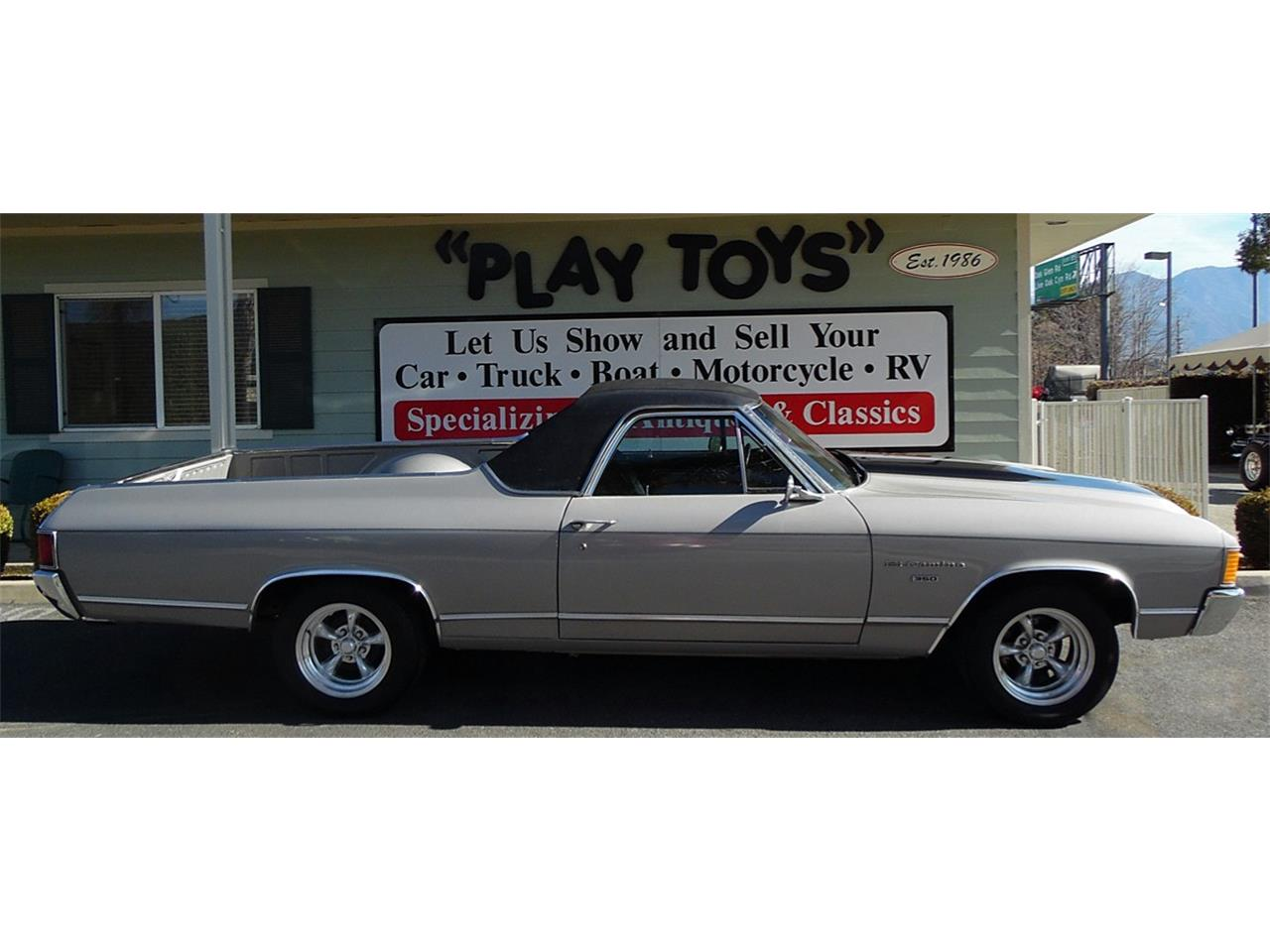 Large Picture of Classic 1972 El Camino located in California Offered by Play Toys Classic Cars - KMZO