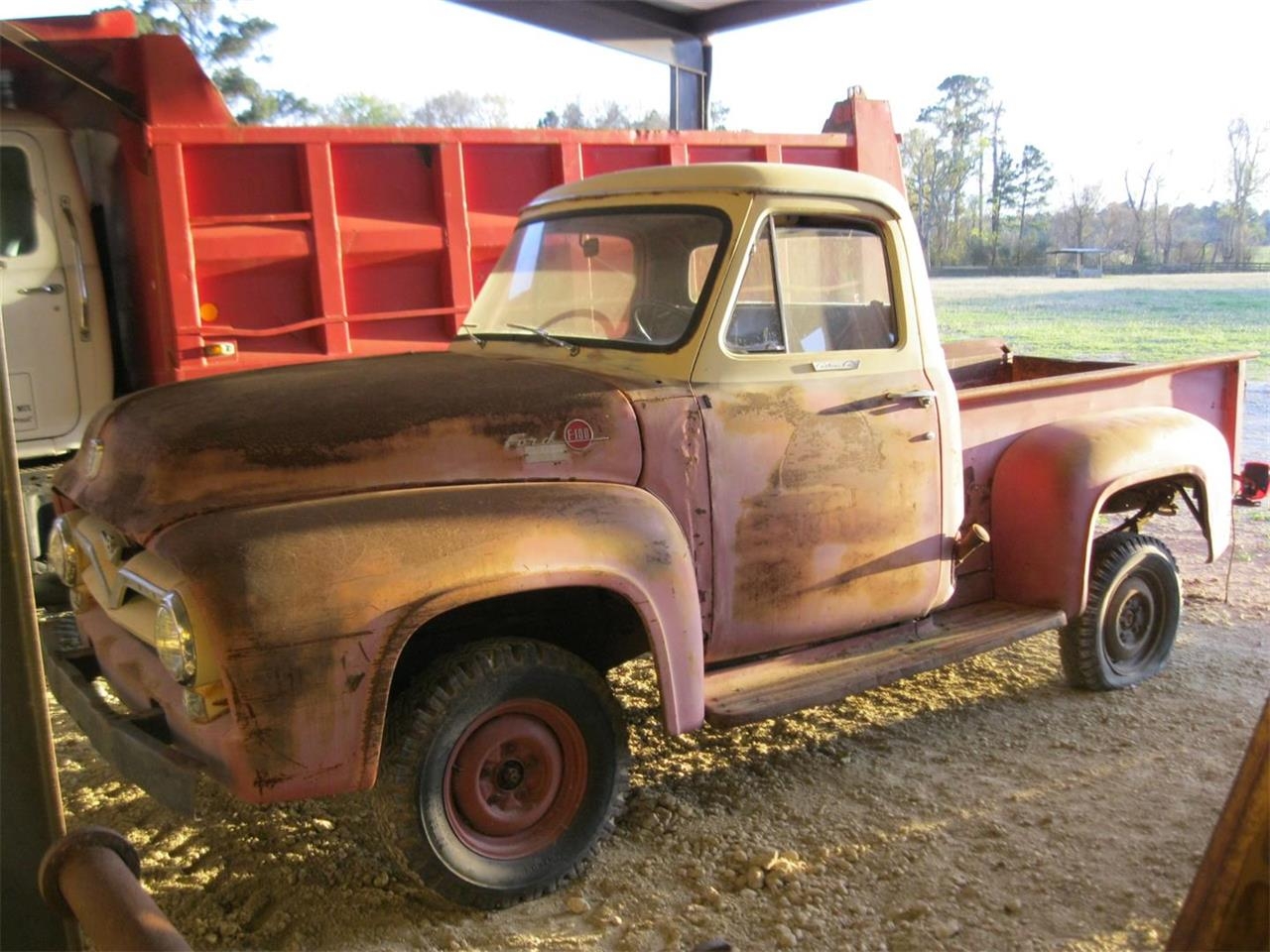 1955 Ford F100 For Sale Cc 962919 White 4x4 Large Picture Of 55 Kmzr