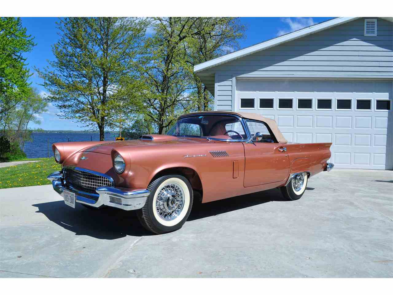 1957 ford thunderbird for sale cc 963119. Black Bedroom Furniture Sets. Home Design Ideas
