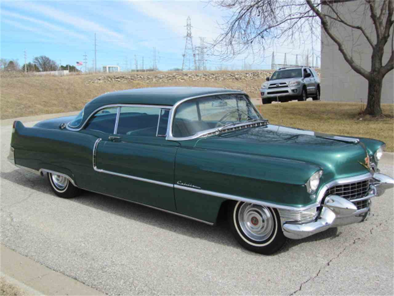 Large Picture of '55 Cadillac Series 62 Coupe DeVille located in Omaha Nebraska - $32,900.00 Offered by Classic Auto Sales - KNC6
