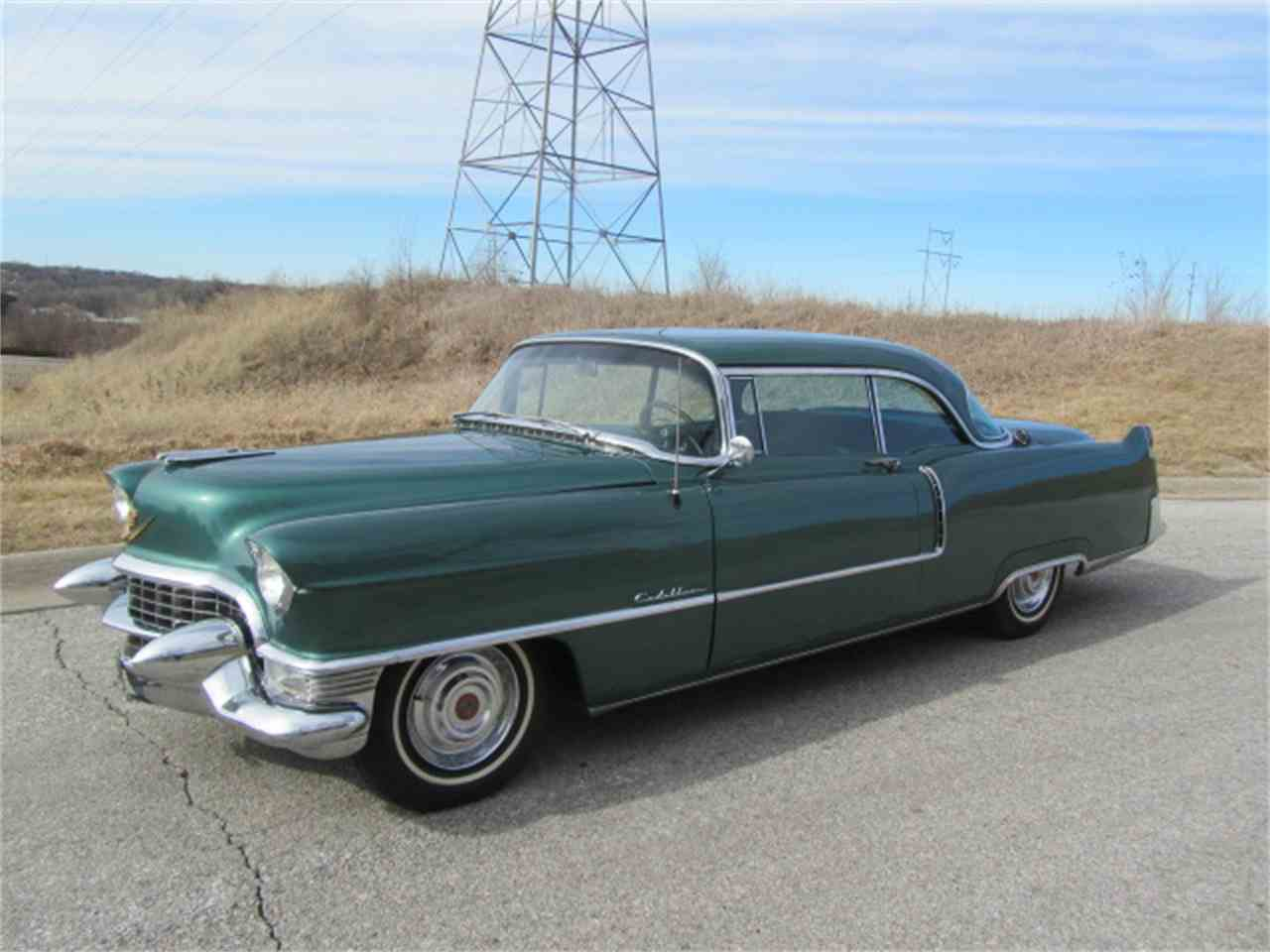 Large Picture of 1955 Cadillac Series 62 Coupe DeVille located in Nebraska - $32,900.00 - KNC6