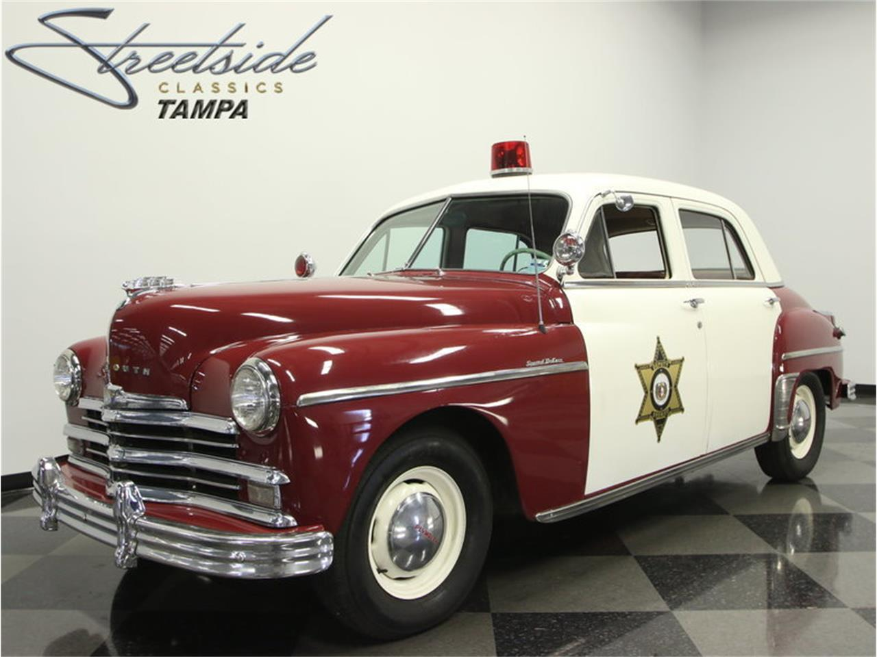 Police Car For Sale >> 1949 Plymouth Special Deluxe Police Car For Sale Classiccars Com