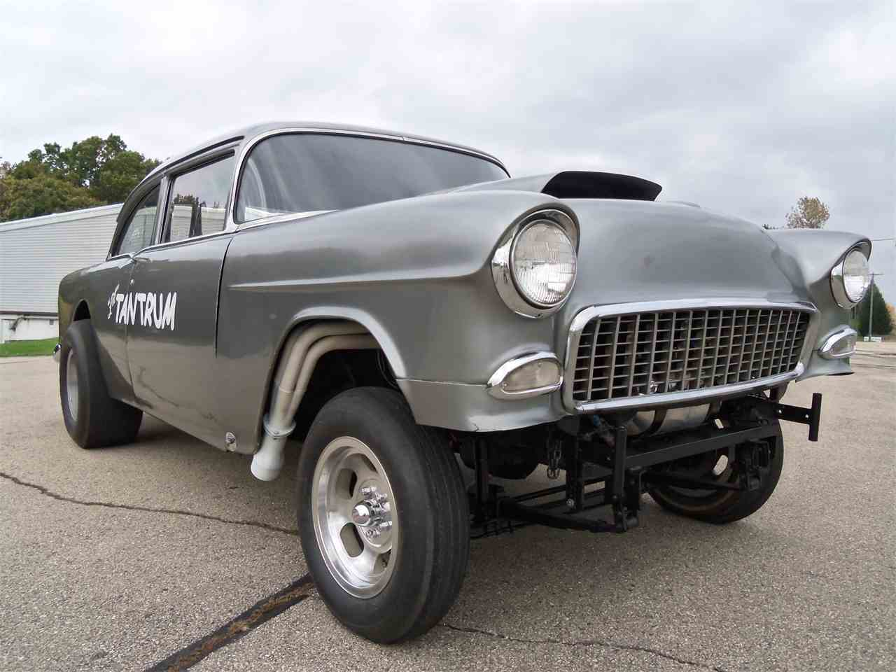 1955 chevrolet belair gasser for sale cc 963589. Black Bedroom Furniture Sets. Home Design Ideas