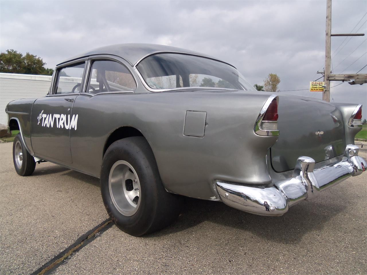Large Picture of '55 Chevrolet Belair Gasser located in Wisconsin Offered by Top Notch Pre-Owned Vehicles - KNID