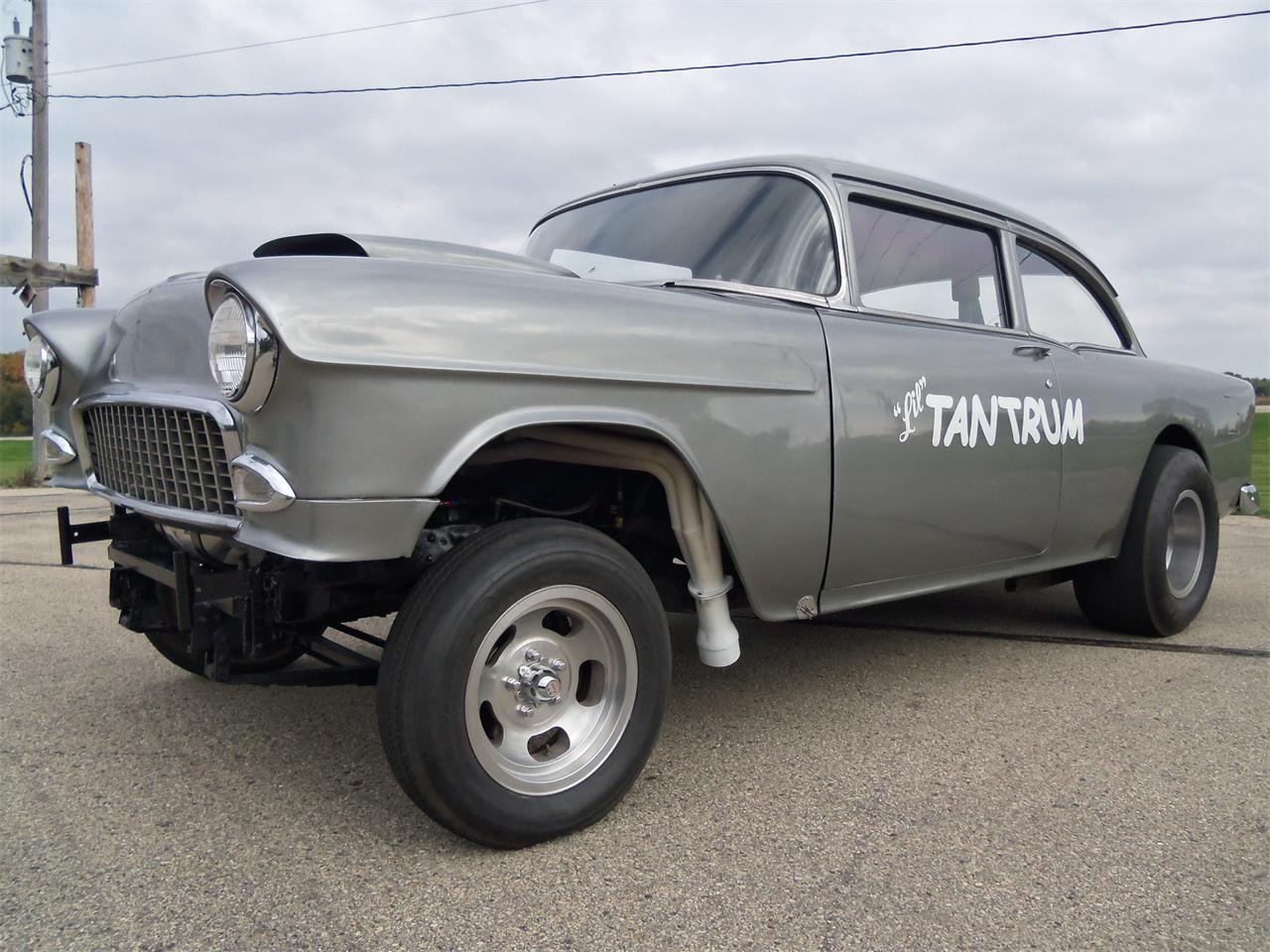 Large Picture of '55 Chevrolet Belair Gasser located in Jefferson Wisconsin Offered by Top Notch Pre-Owned Vehicles - KNID
