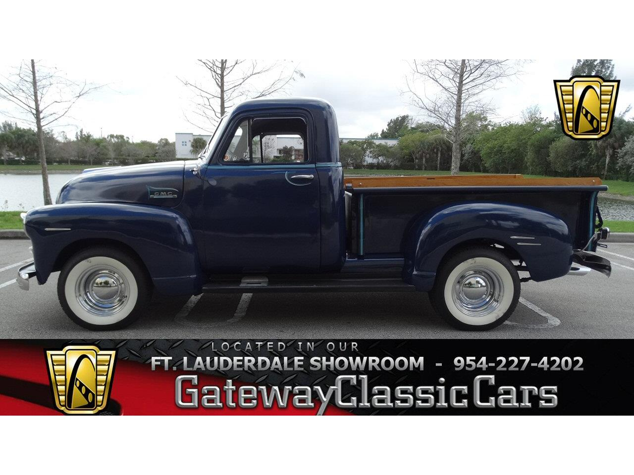 Large Picture of Classic 1952 GMC Pickup located in Coral Springs Florida - $30,595.00 - KNJB