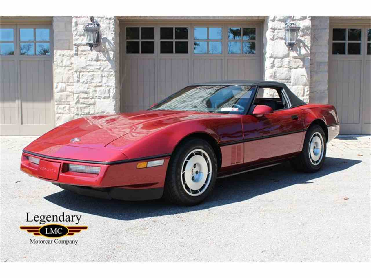 Large Picture of '86 Corvette - KNMX