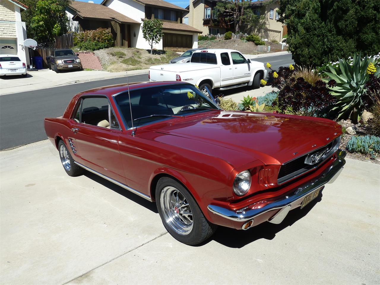 For sale 1966 ford mustang in san diego california