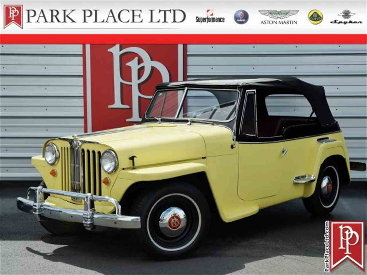 1949 Willys Jeepster for Sale   ClassicCars.com   CC-964439