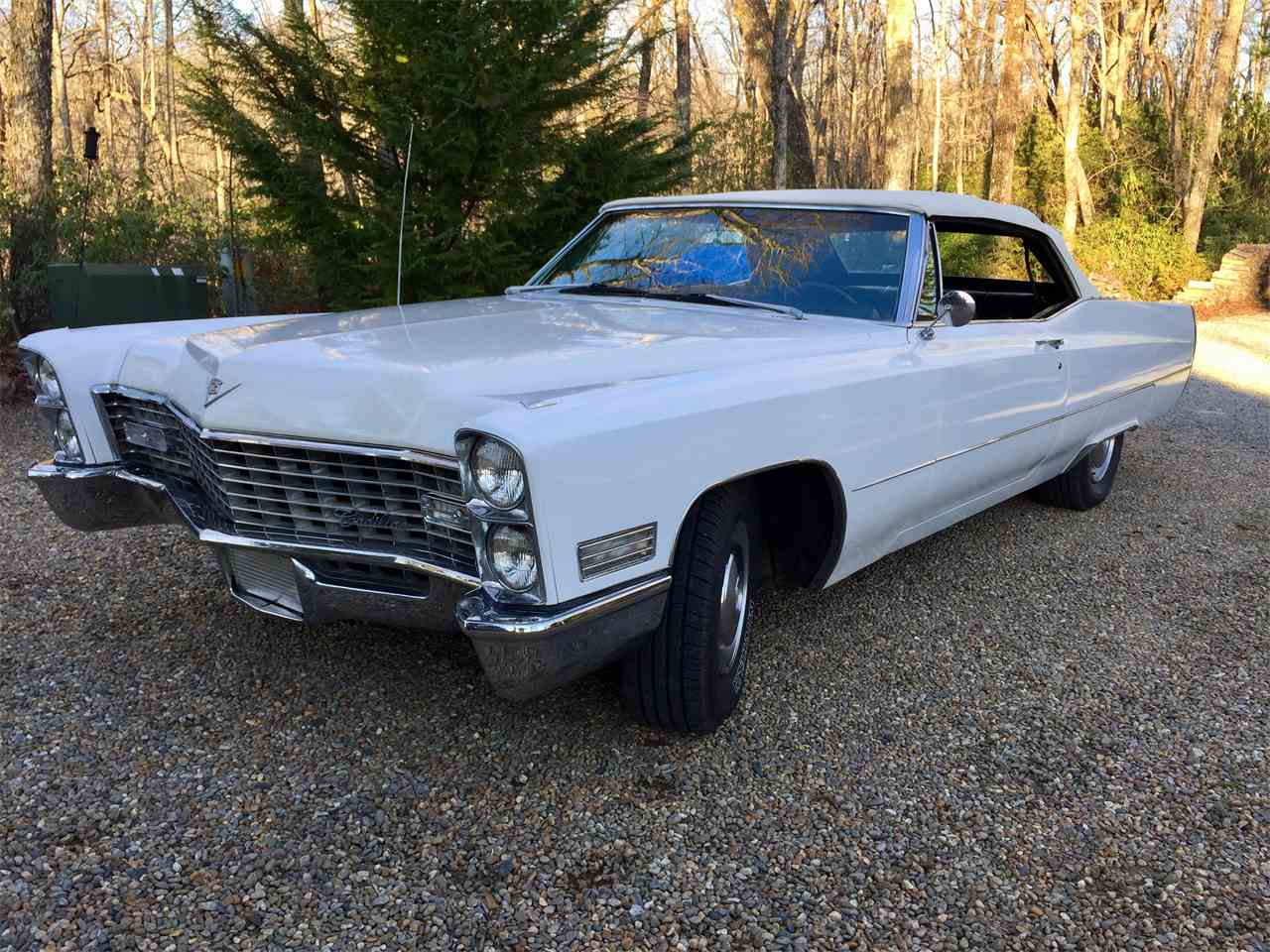 1967 cadillac deville for sale cc 964822. Black Bedroom Furniture Sets. Home Design Ideas