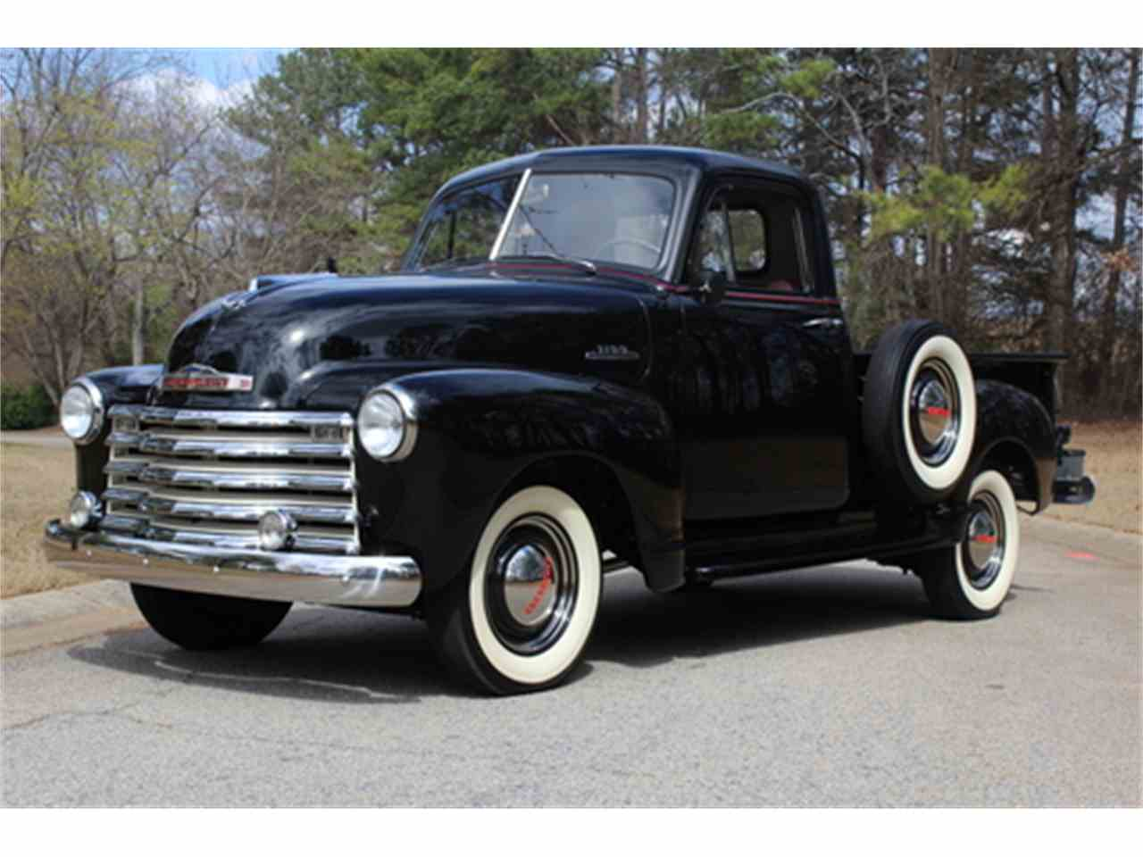 1953 chevrolet 3100 sidemount pickup for sale cc 964926. Black Bedroom Furniture Sets. Home Design Ideas