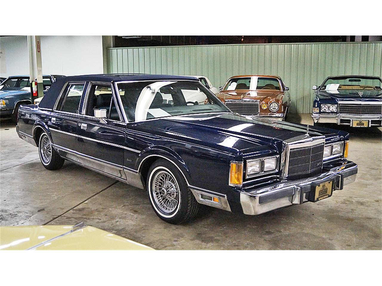 1989 Lincoln Town Car For Sale Classiccars Com Cc 960502