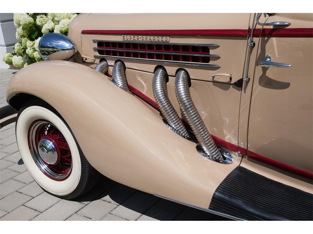 Large Picture of '35 CS 851 Supercharged Phaeton  - KOSG