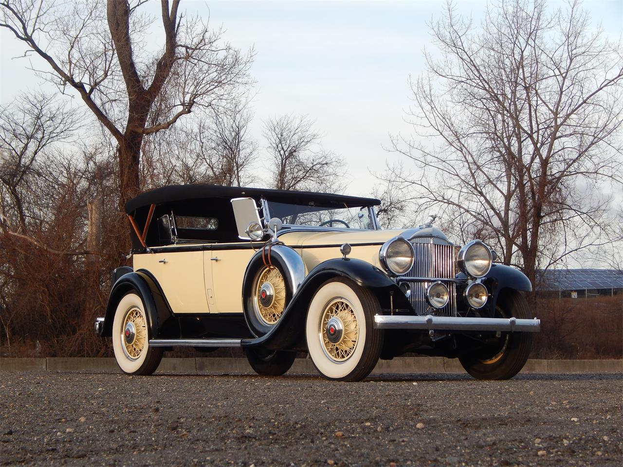 Large Picture of Classic 1931 Packard 833 located in Connecticut Auction Vehicle Offered by Dragone Classic Motorcars - KOWI