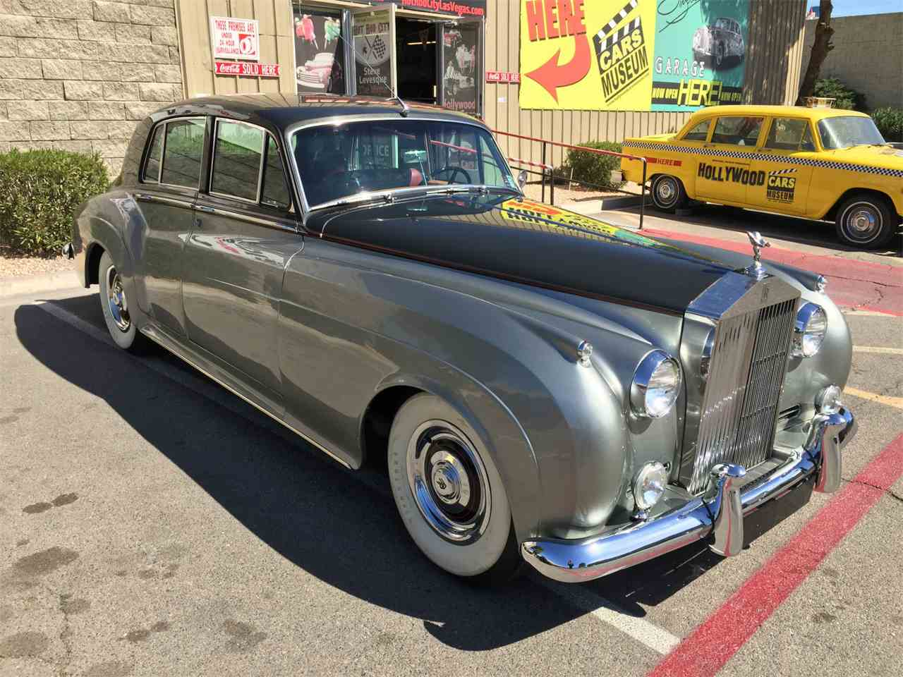 1958 rolls royce silver cloud for sale cc 965858. Black Bedroom Furniture Sets. Home Design Ideas
