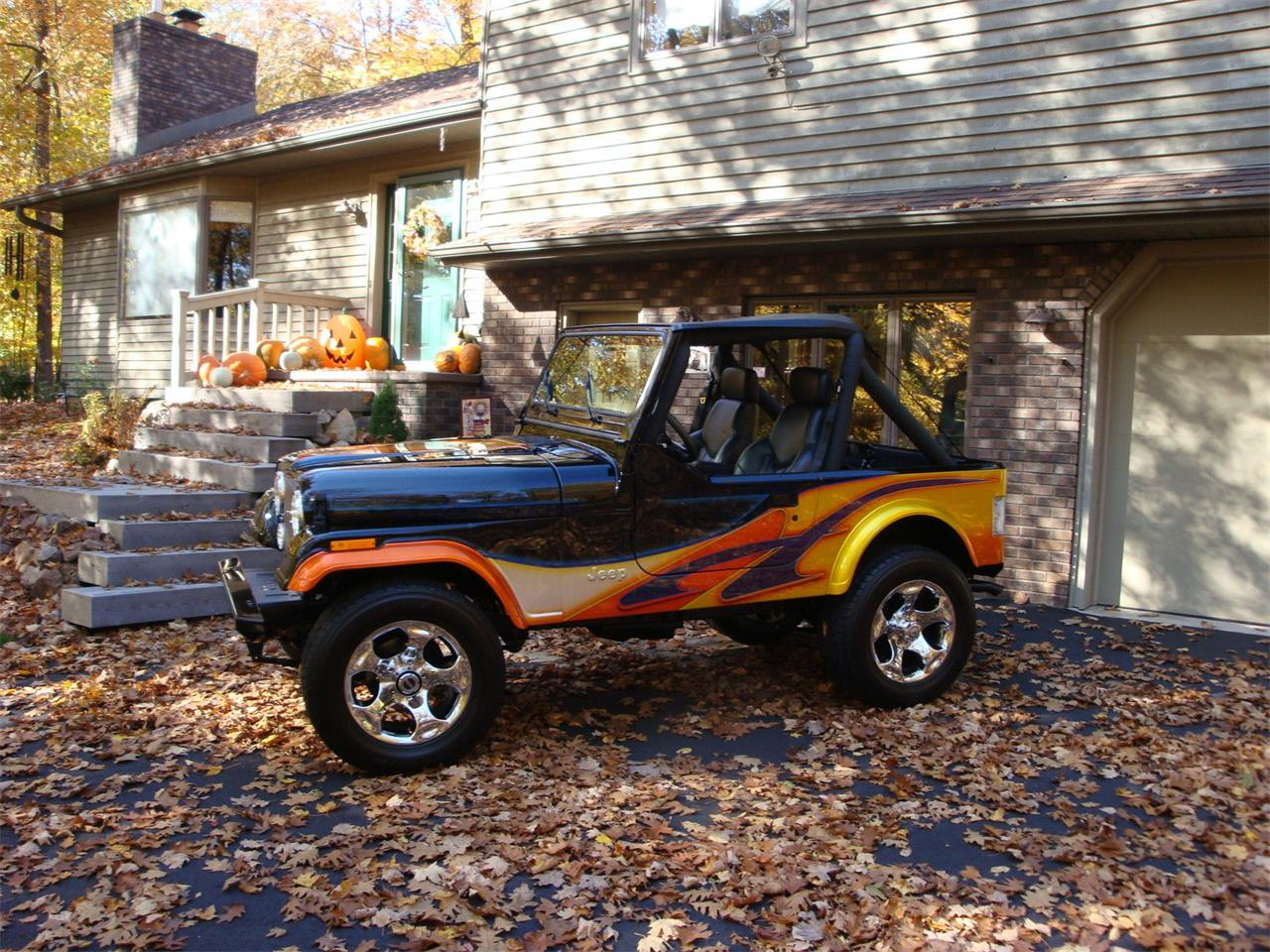 Large Picture of '83 Jeep CJ7 located in Wausau Wisconsin Offered by a Private Seller - KPJM