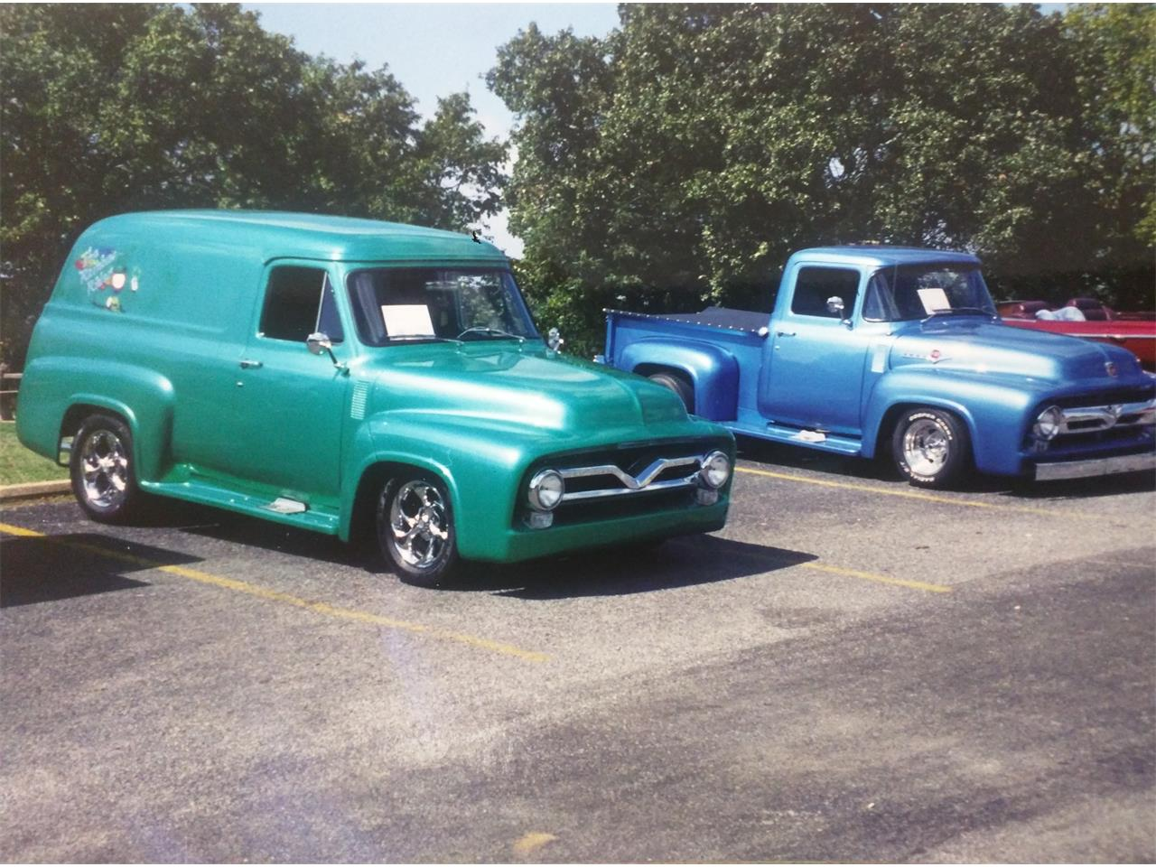 Large Picture of Classic '55 F100 located in Tulsa Oklahoma - KPOM